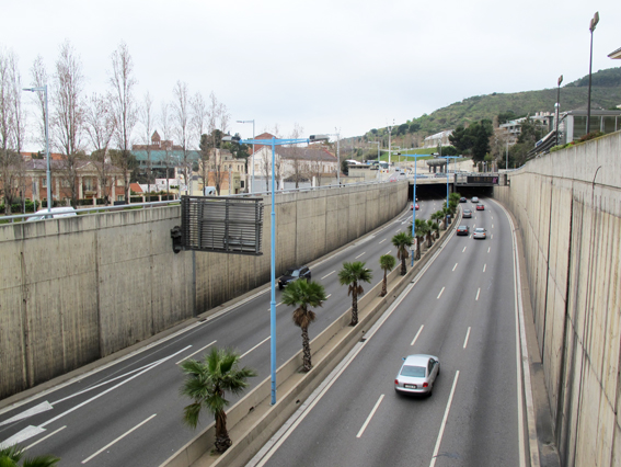 Barcelona motorwayLITEN